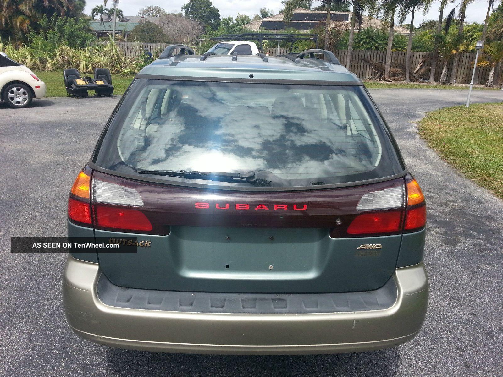 Subaru Outback Awd X Lgw