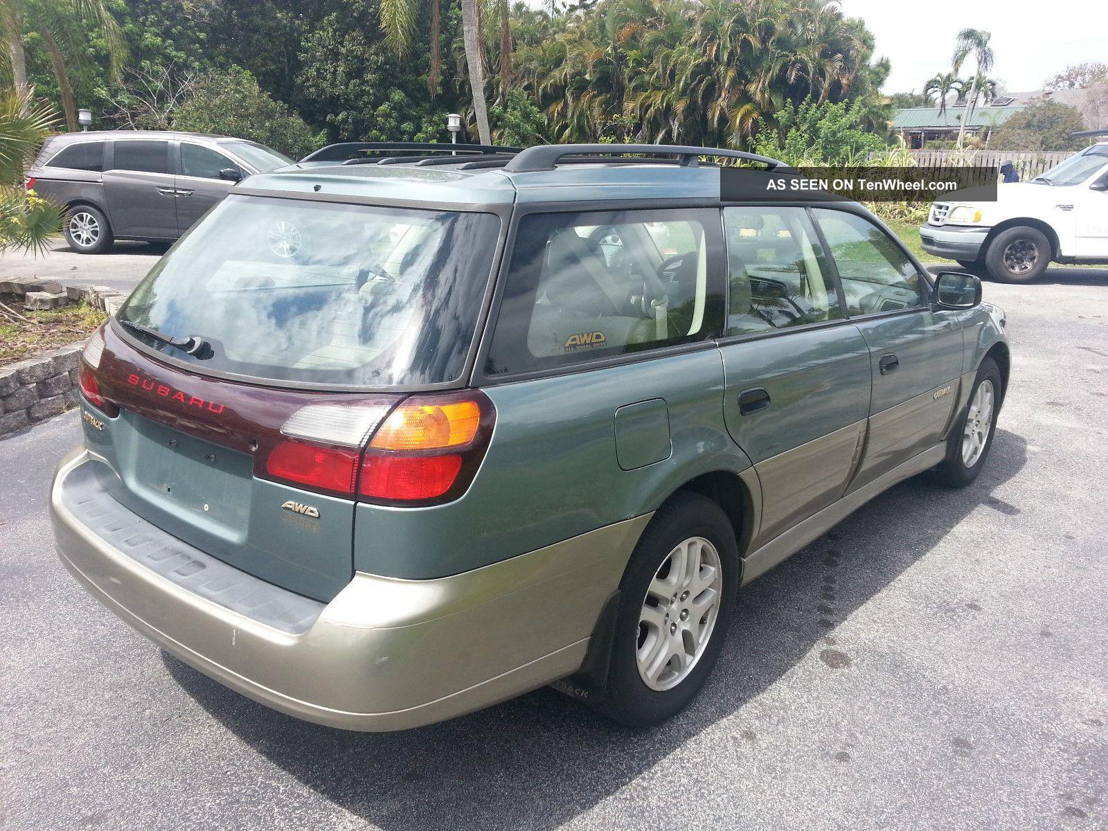 Honda Odyssey All Wheel Drive >> 2000 Subaru Outback Awd 4x4