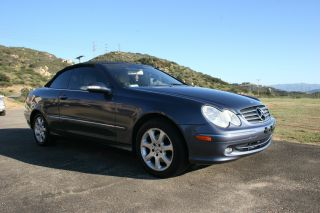 2004 Mercedes Benz Clk 320 Convertible photo