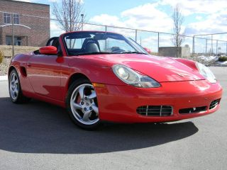 2002 Porsche Boxster Roadster S Convertible 2 - Door 3.  2l photo