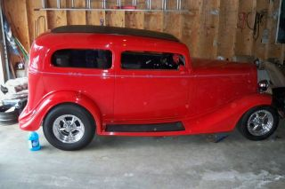 1935 Chevy 2dr Sedan Rod,  Steel Body Nsra 23 Car 3rd & Last On Ebay photo