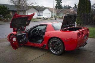2001 Chevrolet Corvette Z06 Supercharged Coupe 2 - Door 5.  7l photo