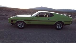 1971 Mach 1 1 Of 231 429 Fresh Restoration Desert Climate Marti Report photo