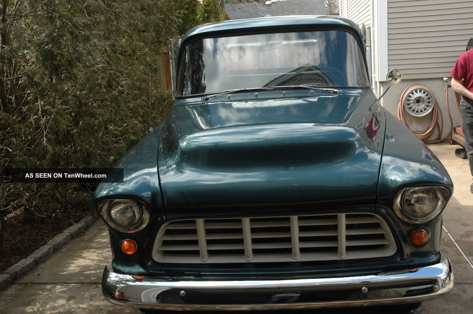 1955 Chevy Shortbed Pickup Truck 1964 Grille