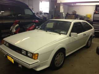 1988 16v Scirocco White photo