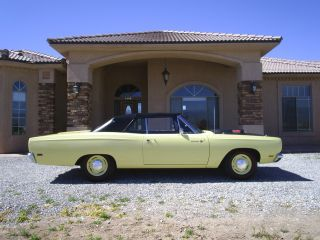 1969 Road Runner Convertible 4 Speed Mopar photo