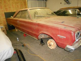 1967 Plymouth Gtx - Barn Find,  Restoration Project - All Matching Numbers photo