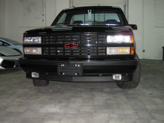 1990 Chevrolet C1500 Ss 454 Cheyenne Standard Cab Pickup 2 - Door 7.  4l photo