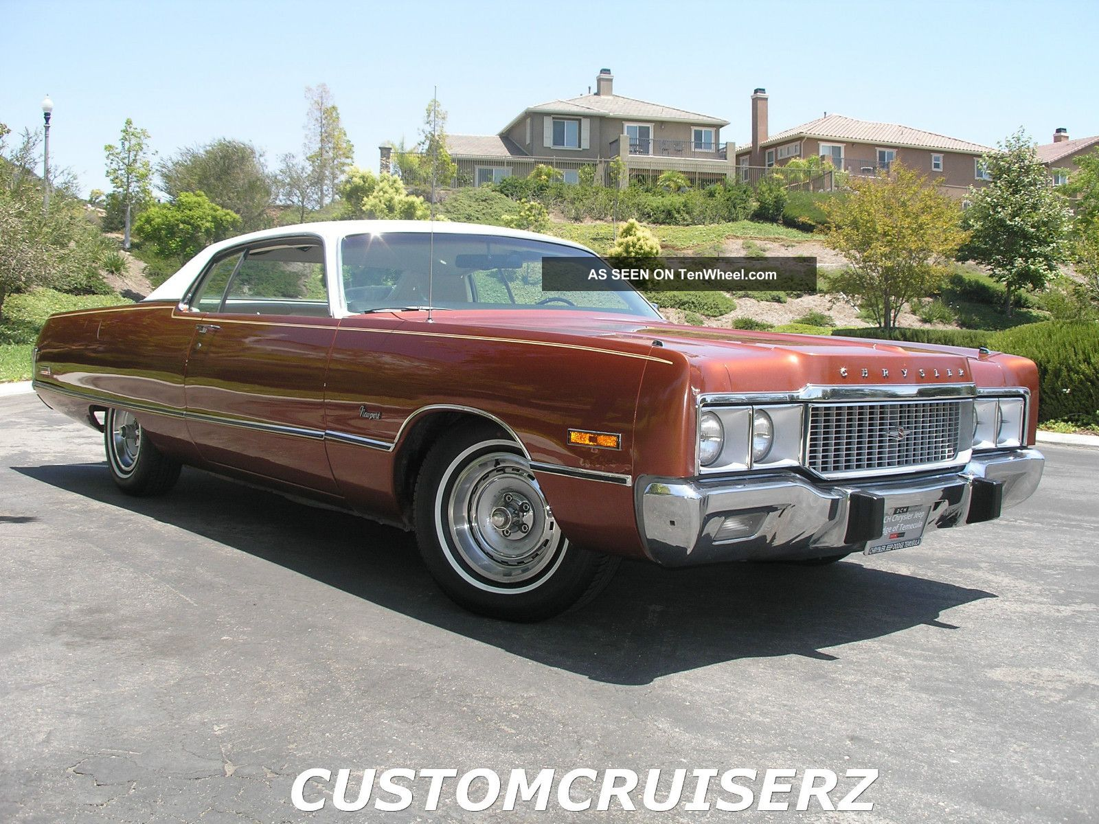 1973 Chrysler Newport 2 Door Special Edition With Rare