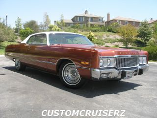 1973 Chrysler Newport 2 - Door Special Edition With Rare Navajo Package photo