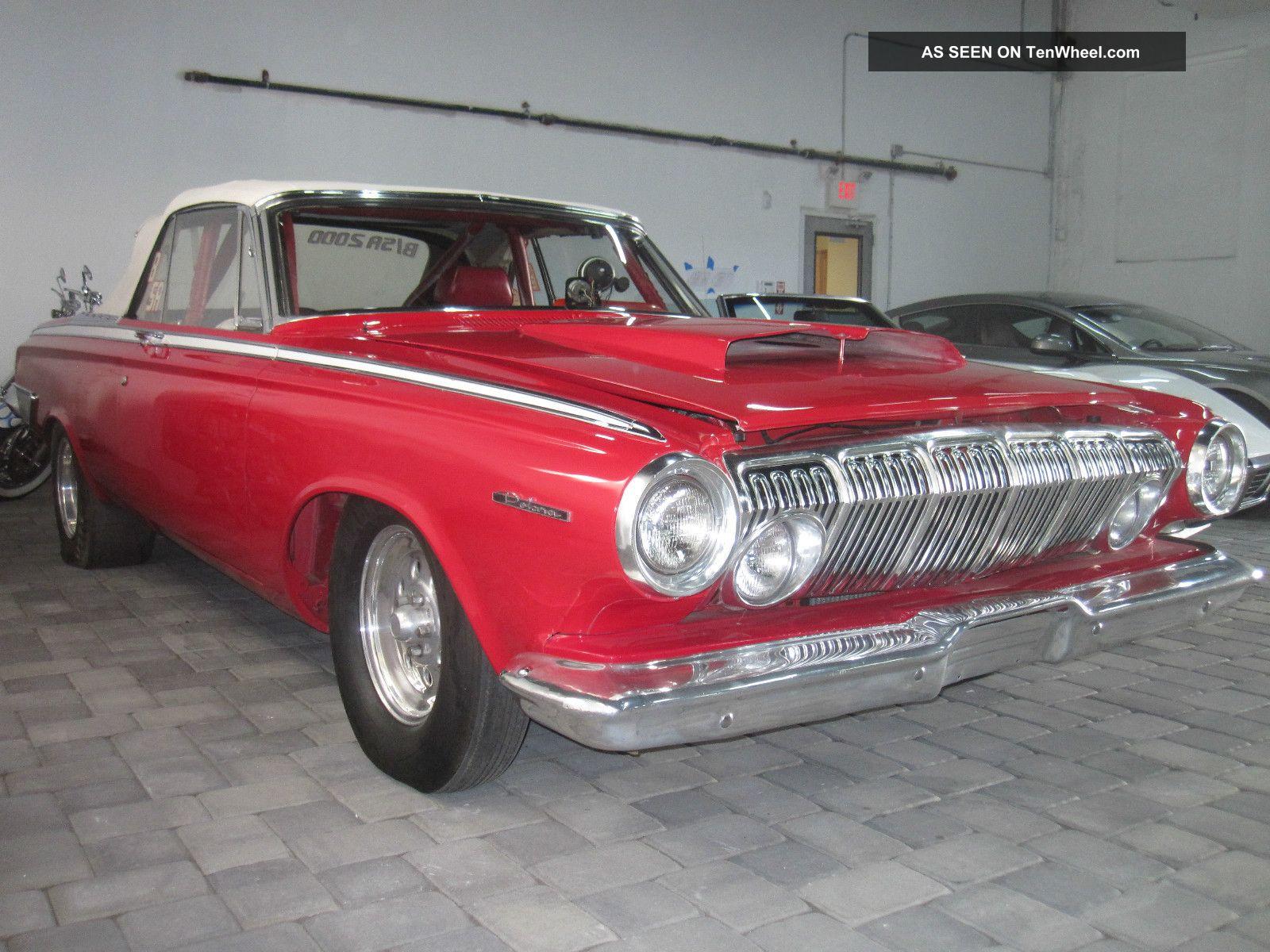 1963 Dodge Polara 500 Max Wedge Convertible,  National Record Holder Other photo