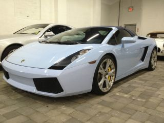 2006 Lamborghini Gallardo Spyder E - Gear photo