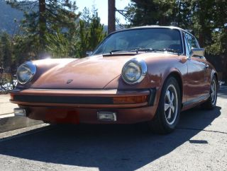 Porsche 911 Targa,  3.  0 1974 Extensive Recent Upgrades.  5 Speed photo