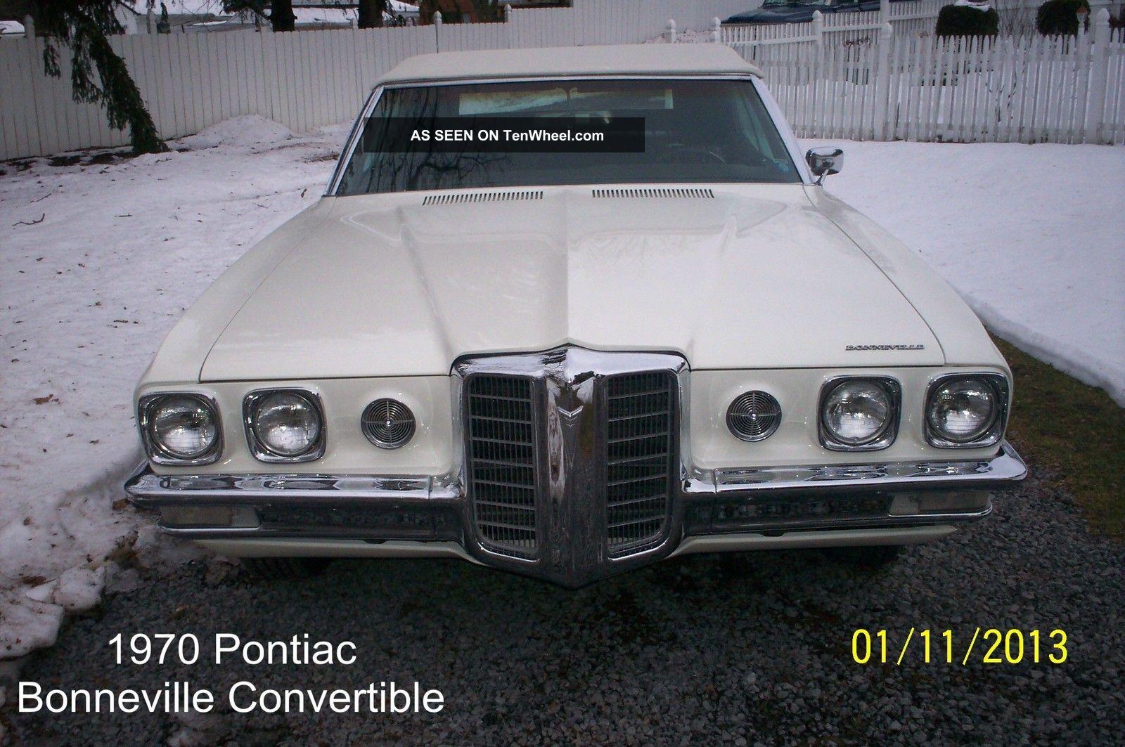 1970 Pontiac Bonneville Convertible 455 Engine Automatic Bonneville photo
