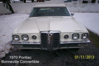 1970 Pontiac Bonneville Convertible 455 Engine Automatic photo