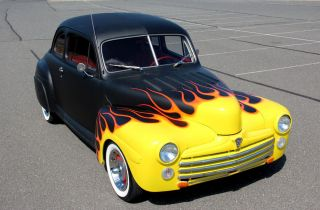 Sweet Traditional 1947 Ford Hot Rod / Rat Rod - 350 Auto - A / C Dig It photo