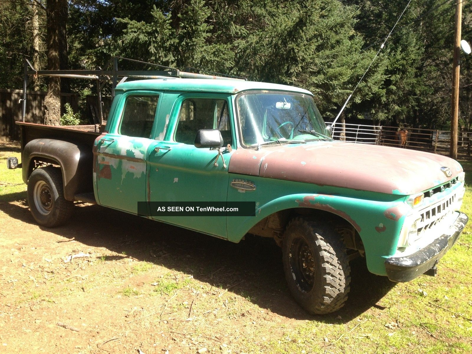 1965 Ford Crew Cab 2x4 1969 F 250 4x4 For Sale