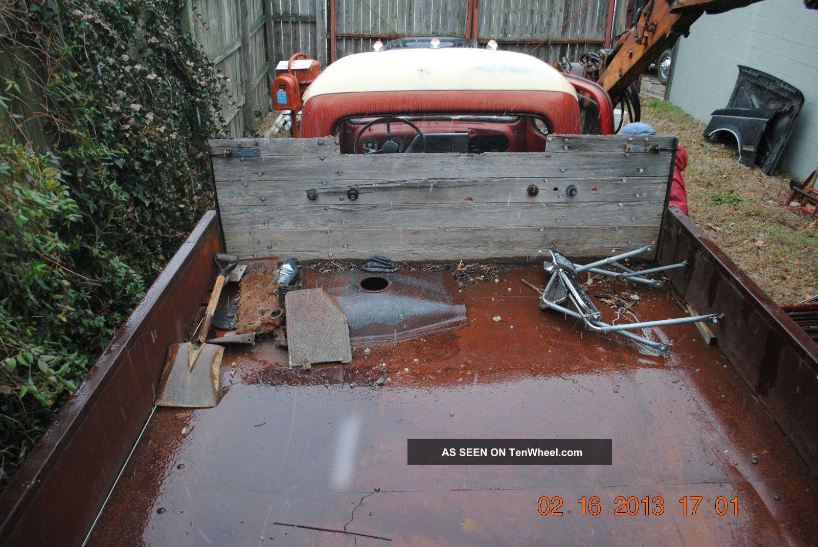 Ford Stake Body F V Flathead Lgw