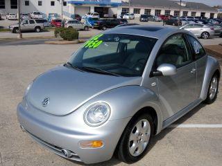 2002 Volkswagen Beetle Gls Tdi Diesel Blue Ox Rv Motorhome Tow Flat Behind Hitch photo