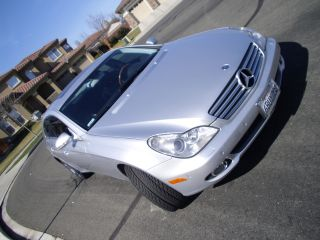 2006 Silver Mercedes - Benz Cls500 Sedan 4 - Door 5.  0l Fully Loaded photo