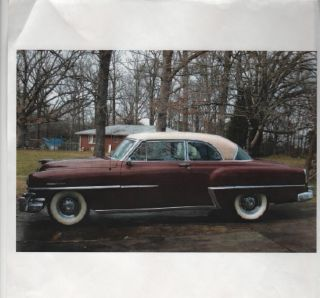 1953 Chrysler Yorker Deluxe 2dr Hdtp - - - Local Car - - - Really photo