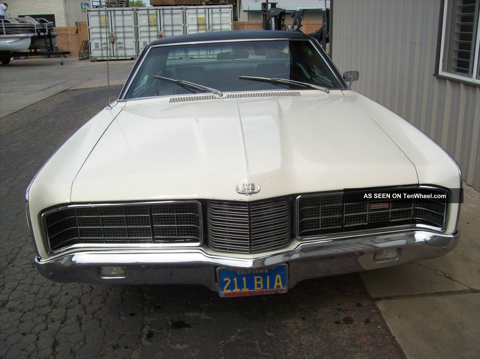 1970 Ford Ltd 390 - 2v Ac Very Hard To Find $1 Fresno Ca.