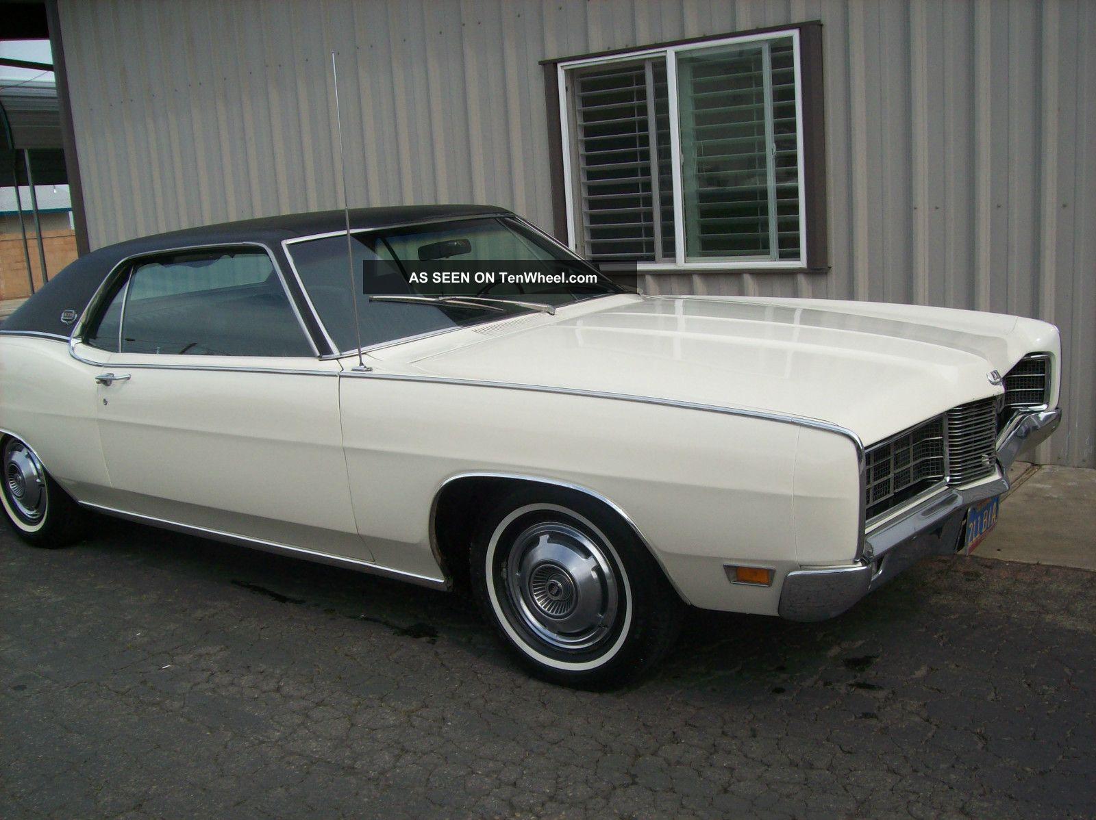 1970 Ford Ltd 390 2v Ac Very Hard To Find 1 Fresno Ca