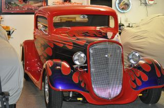 1934 Chevy Coupe Hotrod photo
