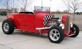 1928 Ford Model A Roadster Hot Rod / Street Rod photo