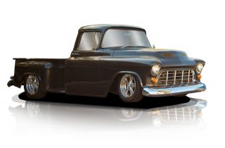 1956 Chevy Stepside Custom 2dr photo