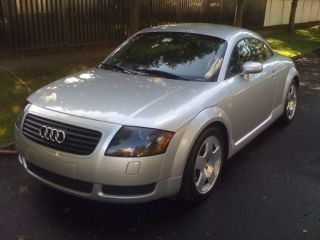 2001 Audi Tt Quattro Base Coupe 2 - Door 1.  8l 275 Hp From 225 Hp photo