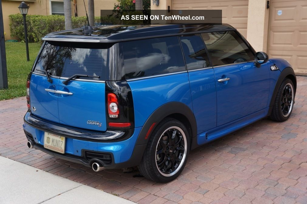2010 mini cooper s clubman auto loaded garaged immaculate condition. Black Bedroom Furniture Sets. Home Design Ideas