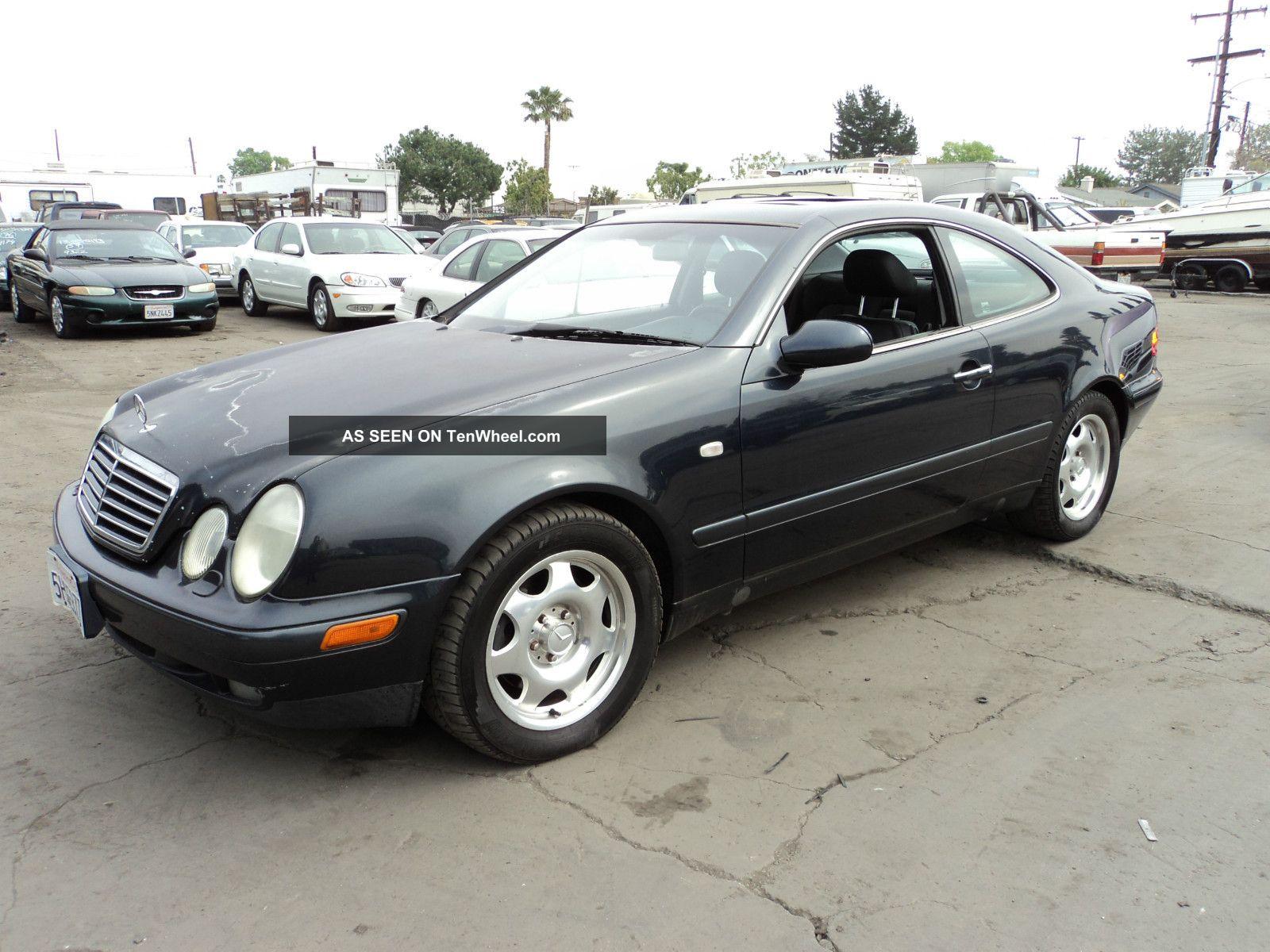 1998 mercedes benz clk320 base coupe 2 door 3 2l for Mercedes benz clk320
