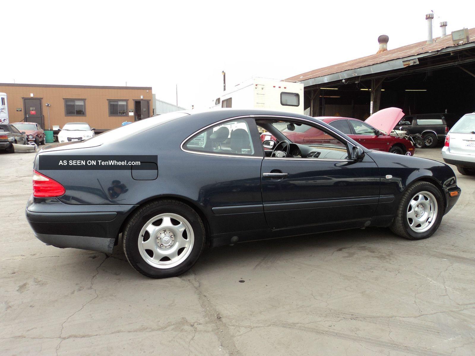 1998 mercedes benz clk320 base coupe 2 door 3 2l for Mercedes benz 2 doors