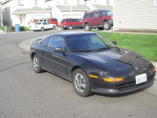 1992 Toyota Mr2 5 Speed T - Tops Runs And Drives Great,  Very photo