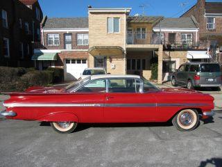 1959 Chevy Impala Stock 283 V8 Roman Red Completely photo