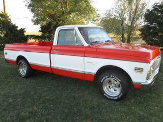 1972 Chevrolet Pickup Truck Custom / 10 Deluxe photo