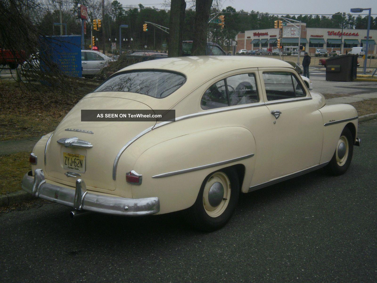 1950 plymouth deluxe 2 door for 1950 dodge 2 door coupe