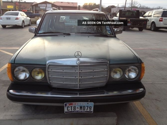 1985 mercedes benz 300td station wagon 5 cylinder turbo for Mercedes benz 300td