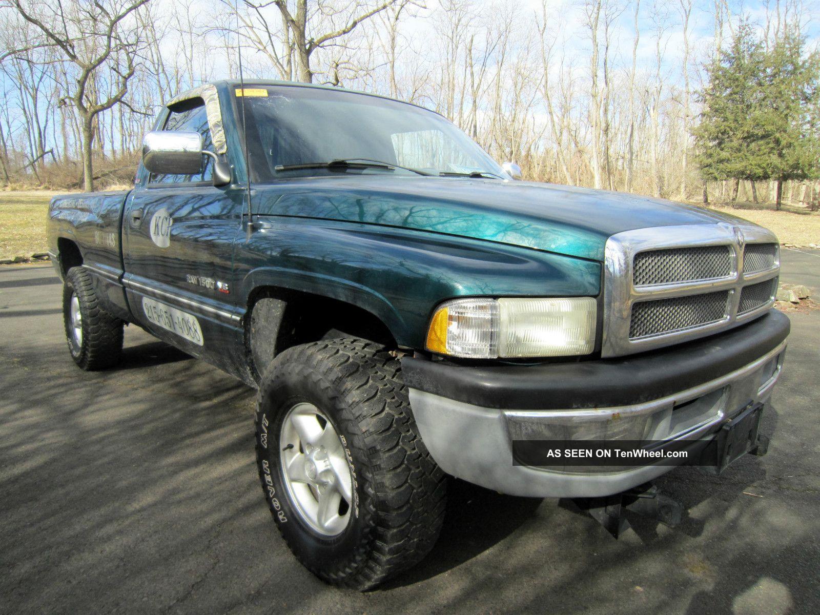 1997 dodge ram 1500 laramie slt pickup truck with 4x4 and. Black Bedroom Furniture Sets. Home Design Ideas