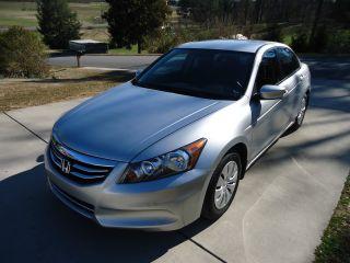 2012 Honda Accord Lx Sedan 4 - Door 2.  4l photo
