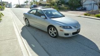 2007 Mazda - 6 Grand Touring Silver Gray,  Moon Roof,  Alloy Wheels,  6 Disc photo