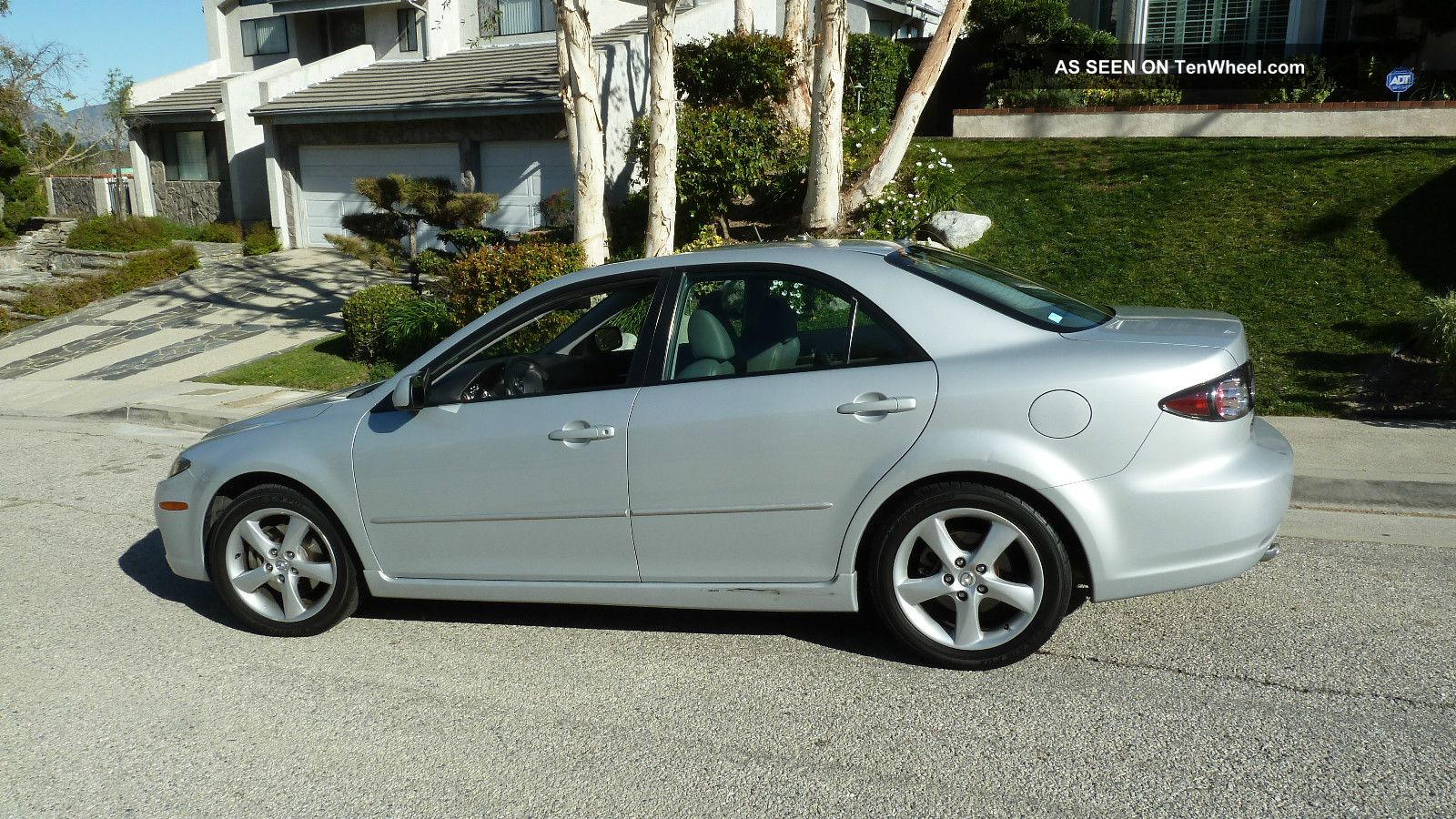 2007 mazda 6 grand touring silver gray moon roof alloy wheels 6 disc. Black Bedroom Furniture Sets. Home Design Ideas