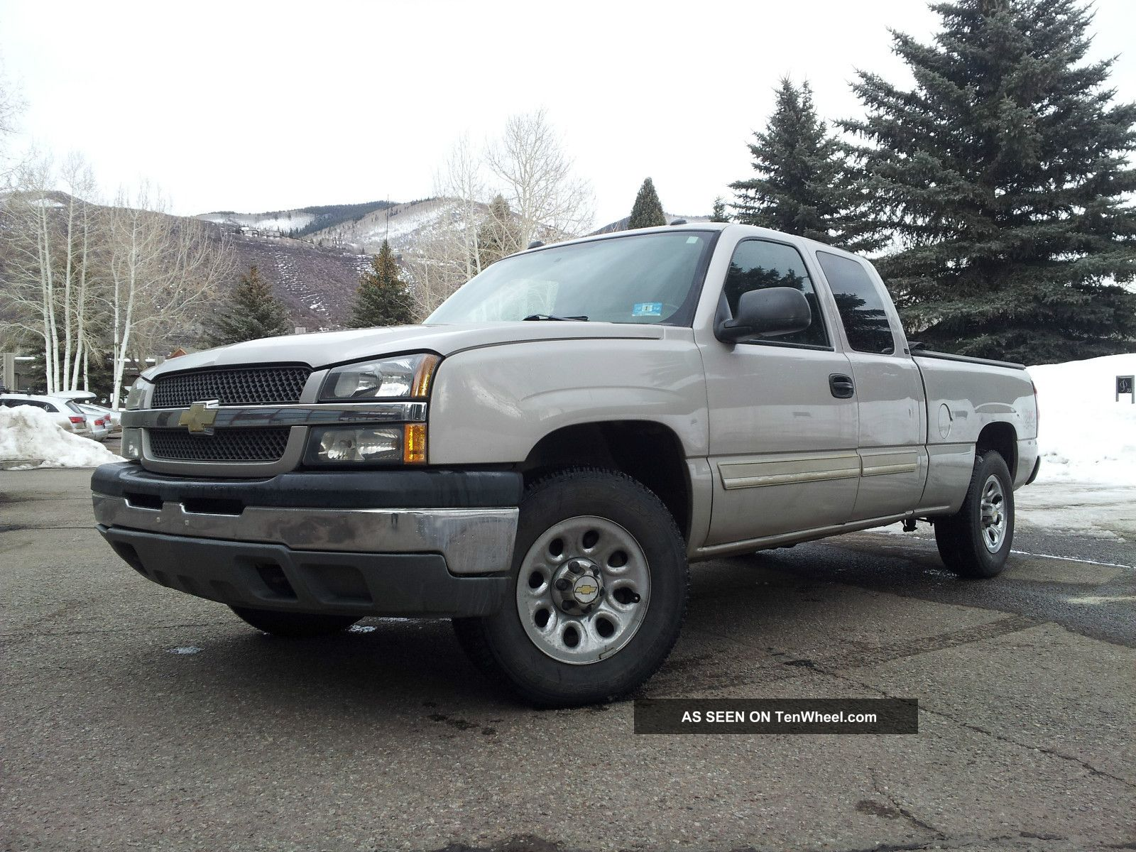 chevrolet silverado 1500 4x4 ext cab 4 door 2005 bage vortex 5 3 liter. Black Bedroom Furniture Sets. Home Design Ideas