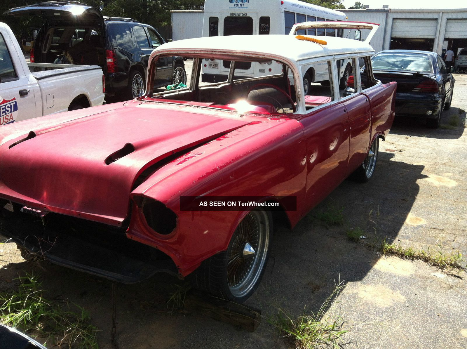 Project Car 1957 Chevy Wagon Bel Air/150/210 photo