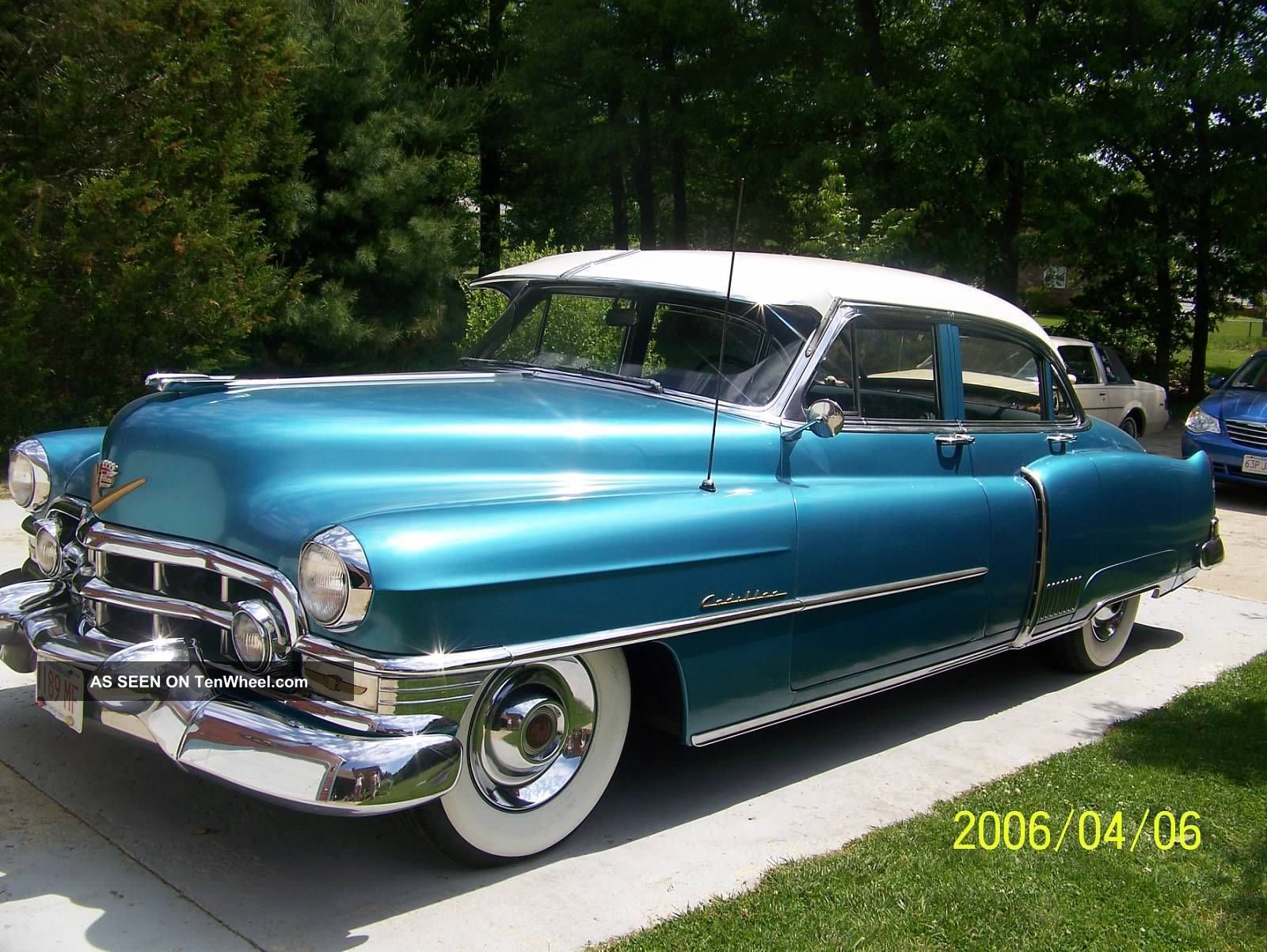 1952 cadillac fleetwood for 1952 packard 4 door sedan