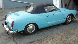 1974 Volkswagen Karmann Ghia Conv photo