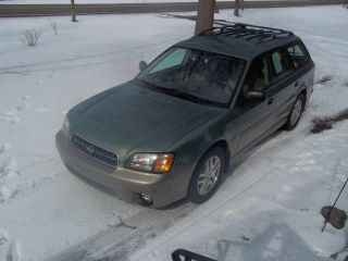 2003 Legacy Outback Awd - Sage Green Beauty.  In And Out.  Runs Excellent photo
