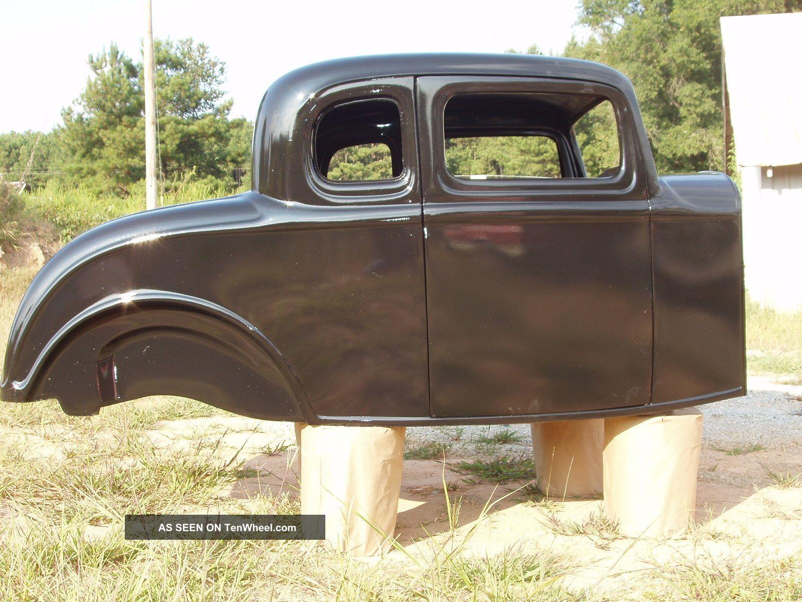 1932 Ford Five Window Fiberglass Body Project