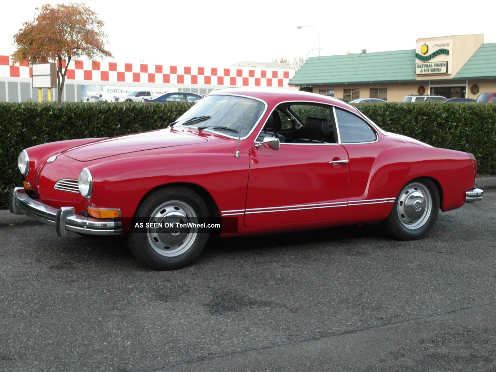 1974 Volkswagen Karmann Ghia Base 1.  6l Karmann Ghia photo